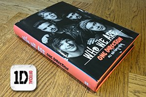 onedirection book with augmented reality