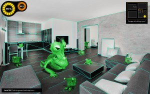 Mockup 3D Tracking LivingRoom