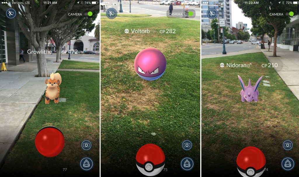 how to make a game like pokemon go in unity