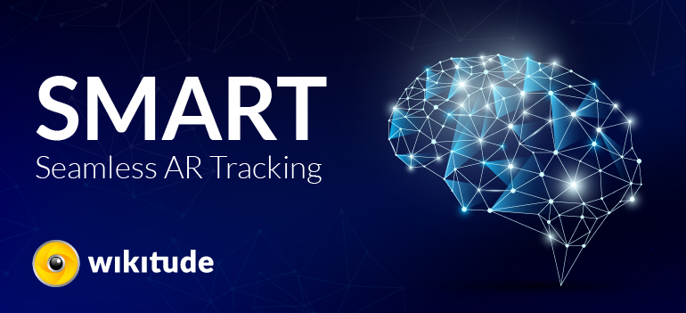 SMART - Wikitude seamless Augmented reality tracking