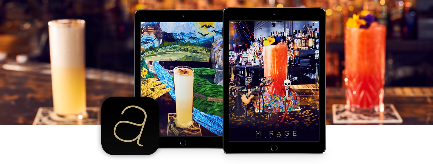 Mirage By City Social - The World's First Augmented Reality Cocktail Menu