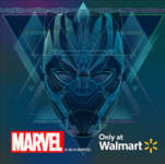 Walmart Marvel ShowCase Logo - Wikitude augmented reality