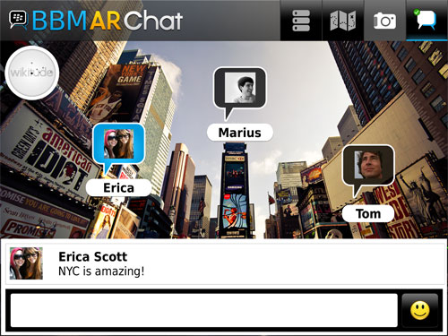 BlackBerry Messenger Architect Chat