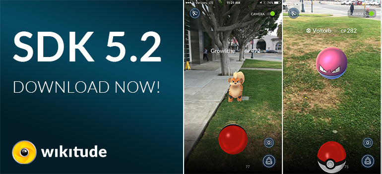 Build the new Pokemon Go with Wikitude's SDK and Unity extension