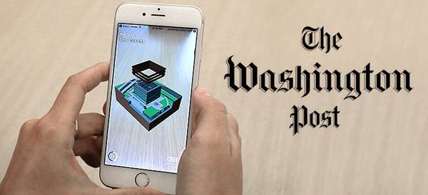 Augmented Reality in Museums: The Washington Post AR app