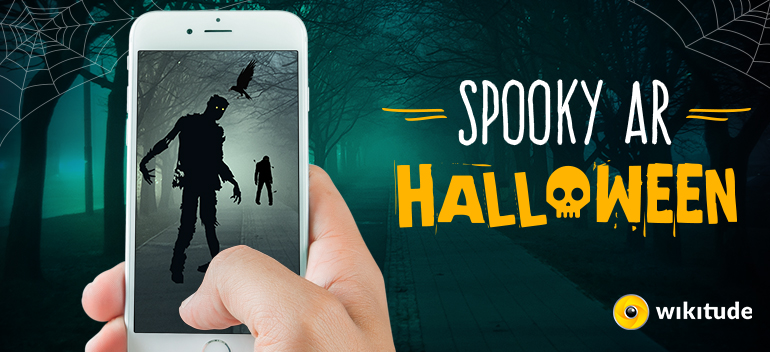 Halloween Augmented reality