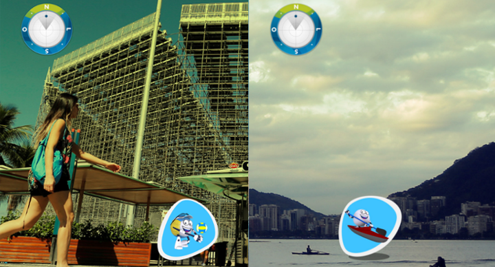 With Geo AR visitors can explore their surroundings in a fun and engaging way
