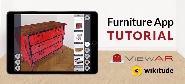 Build your AR-furniture app in 5 minutes with ViewAR