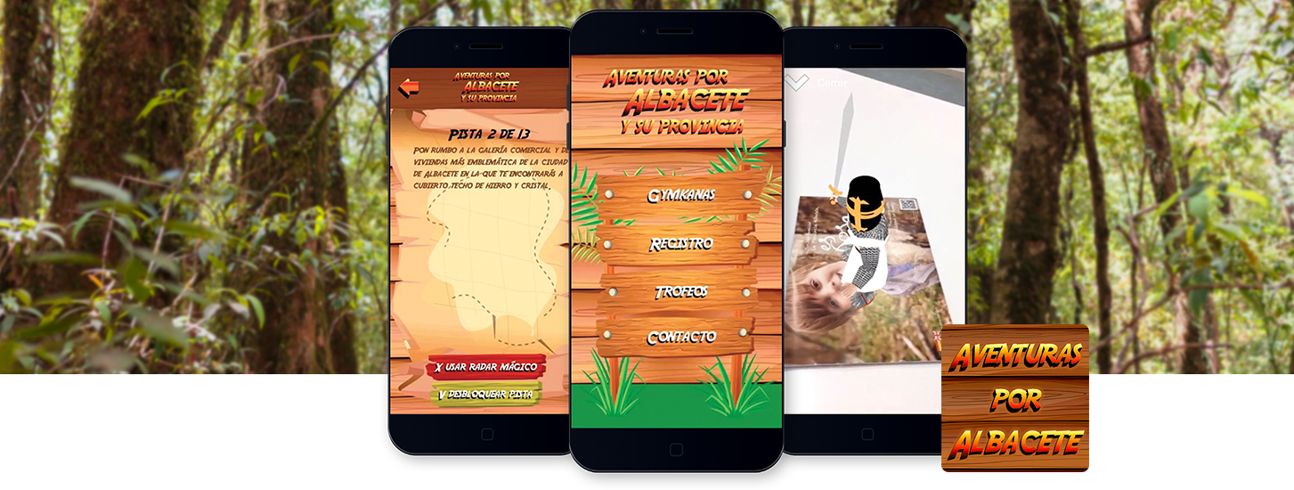 Aventuras por Albacete - The Interactive Augmented Reality Tourism Game