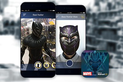 Ar Transforms Walmart Into Marvel S Black Panther Wakanda