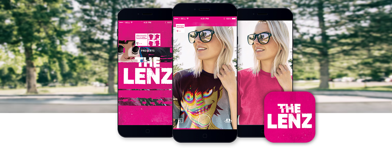MThe Lenz - Gorillaz AR app by Telekom