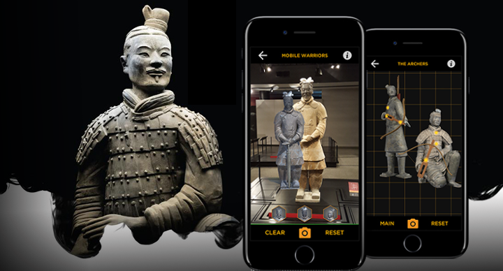 Wikitude AR SDK Object and Scene Recognition- Franklin Institute Terracota Warriors
