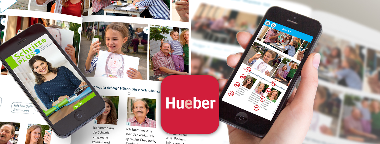 Learning languages made easy with Hueber Vertrag's AR  - powered by Wikitude