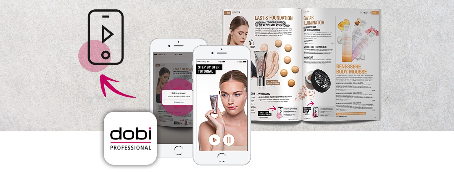 Dobi - Cosmetic retailer boosting sales with AR magazine