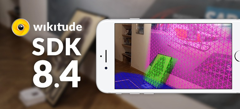 Wikitude AR SDK 8.4 - Plane Detection