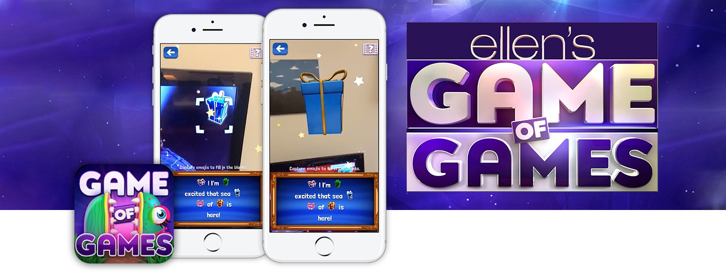 Ellen DeGeneres Game of Games AR APP