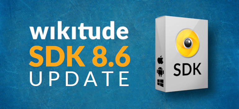Augmented reality SDK: Wikitude SDK 8.6 update