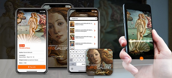 Augmented Reality in Museums: Uffizi Gallery
