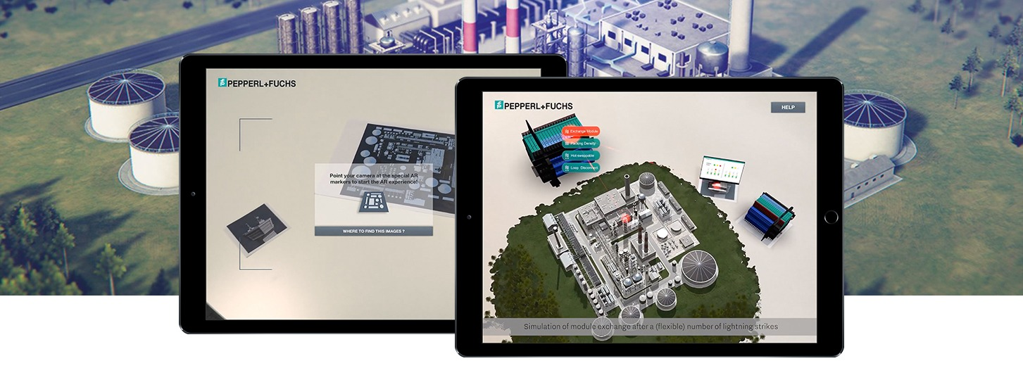 augmented reality Simulation: Surge Protection