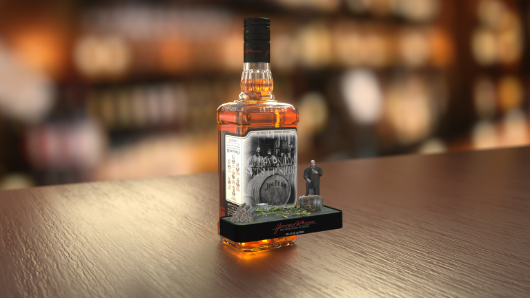 AR Product Packaging - Bourbon visionary sets up shop