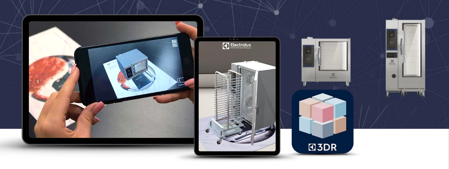 Electrolux uses Wikitude  AR product visualization tech to help customers visualize products