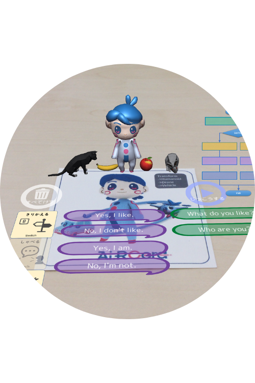 programming choices and logical answers with AR
