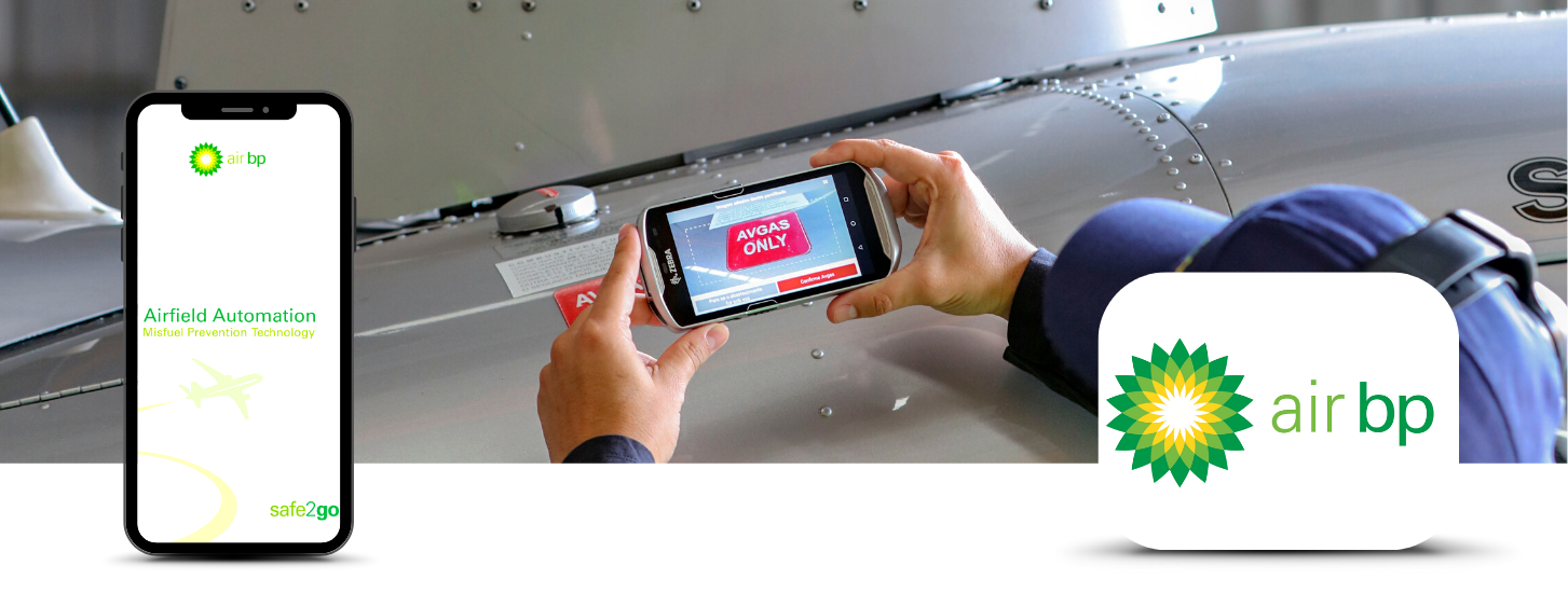 Air bp Airfield Automation safe2go: AR solution to prevent aircraft misfuelling