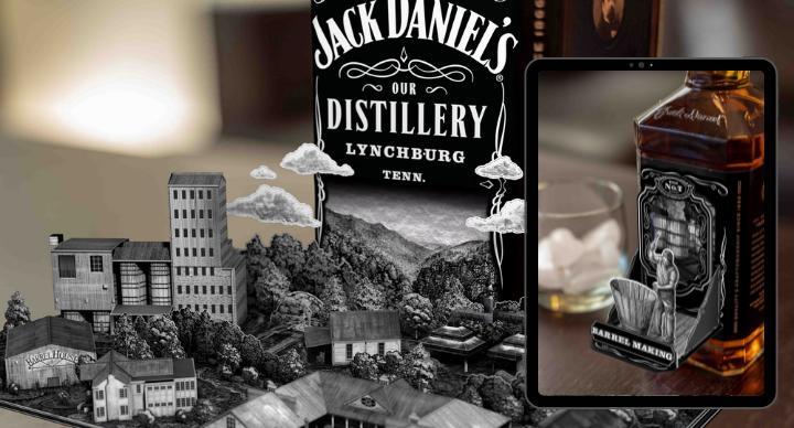 Jack Daniels packaging